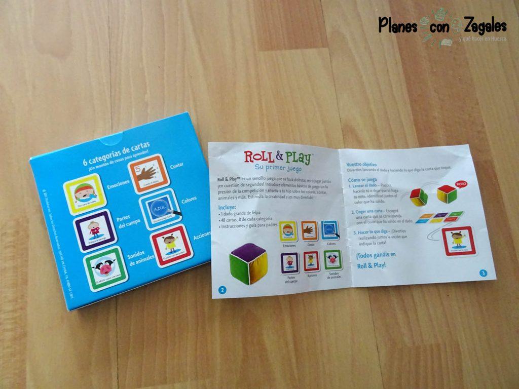 Instrucciones Juego Roll and Play