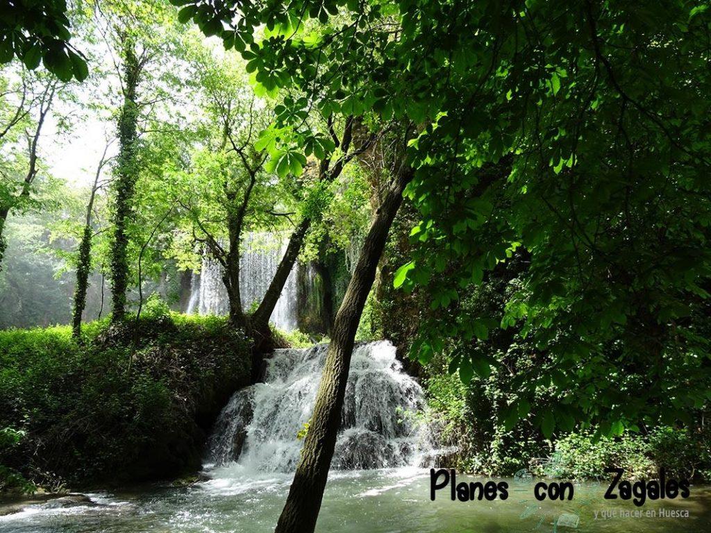 Primeras cascadas Monasterio Piedra