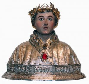 Busto de San Lorenzo (Huesca)