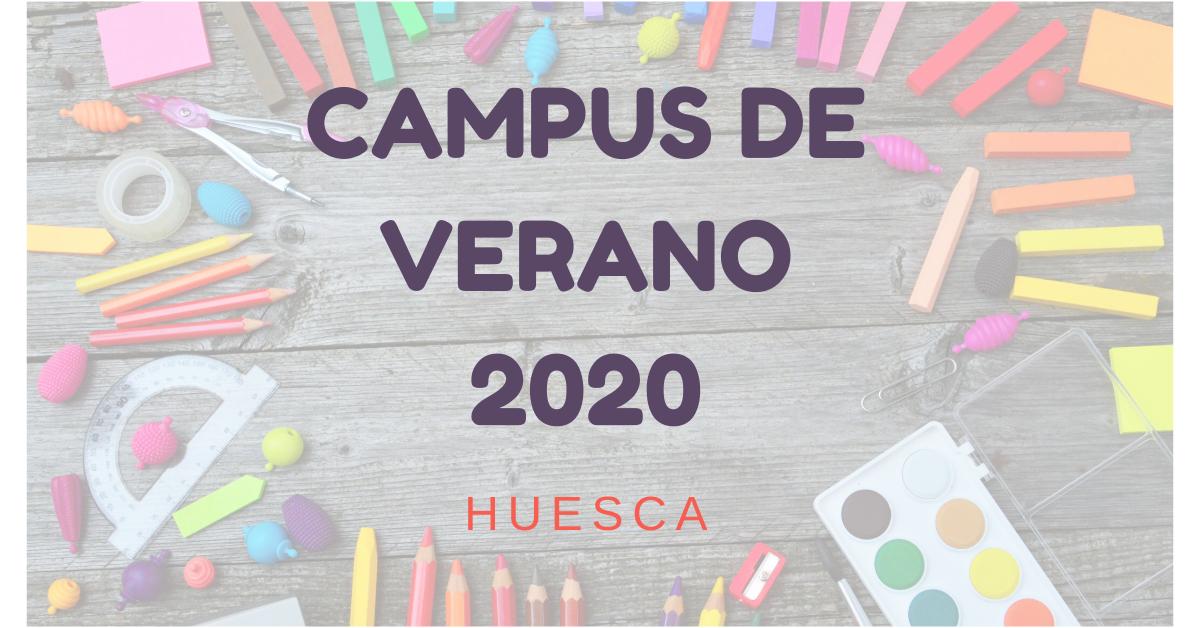 Ver campus de  Verano 2020 Huesca